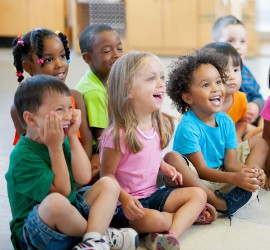 Featured child care children
